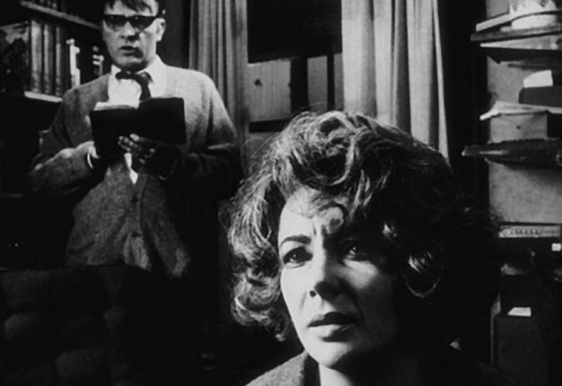 Richard Burton en Elizabeth Taylor in Who's Afraid of Virginia Woolf? (Mike Nichols, naar Edward Albee)