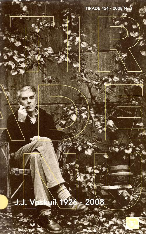 Themanummer van literair tijdschrift Tirade, gewijd aan J.J. Voskuil