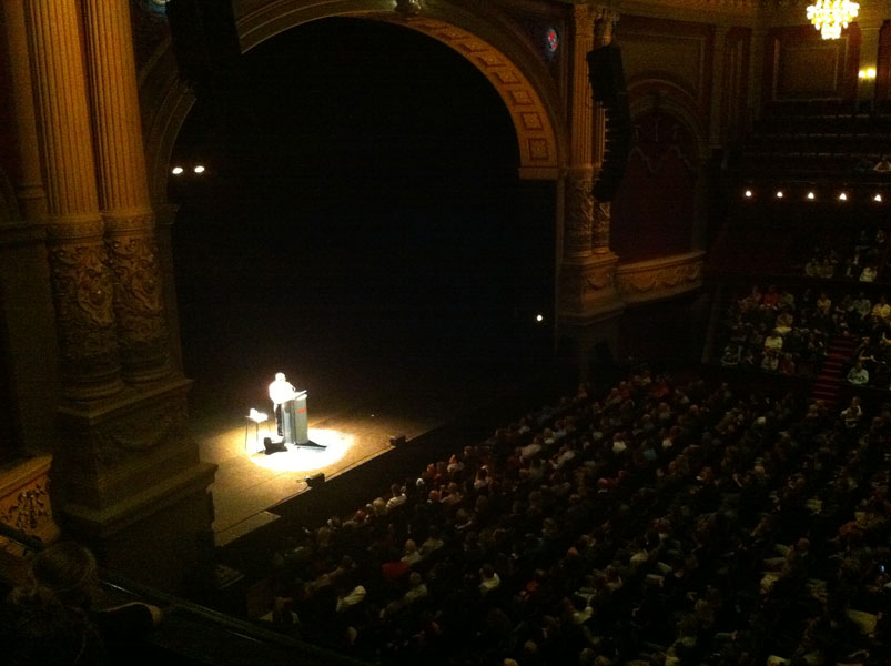 Sedaris in Carré