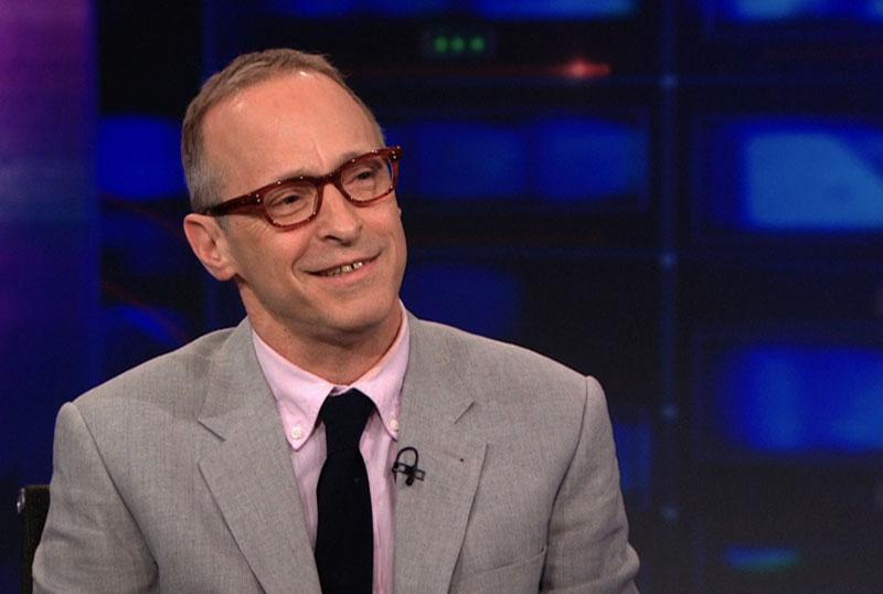 David Sedaris in de Daily Show