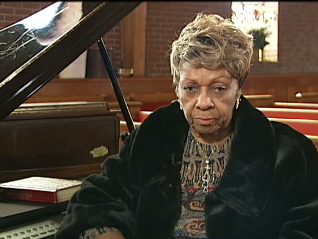 Cissy Houston in de New Hope Baptist Church (2012)