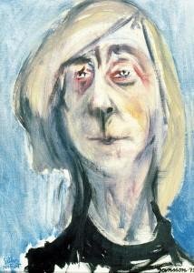 Zelfportret uit 1975